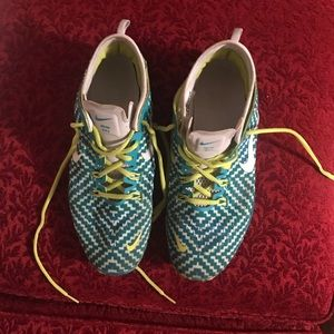 Nike free tr fit 4 ladies 10 and 1/2